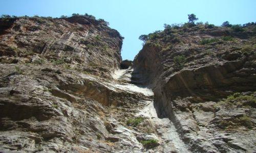 GRECJA / - / Kreta - Wąwóz Samaria / Ściana skalna