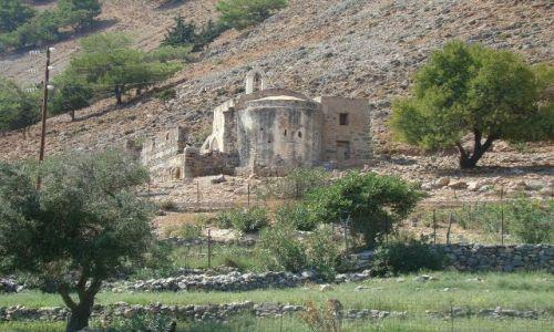 GRECJA / Kreta / Aghia Rumeli  / Stara cerkiew