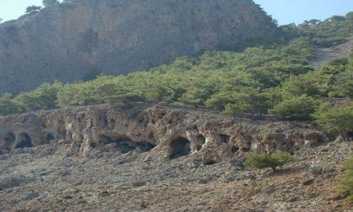 GRECJA / - / Kreta - wybrzeże południwe / Jaskinie