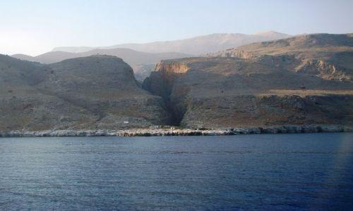 Zdjecie GRECJA / - / Kreta - wybrzeże południwe / Od strony morza