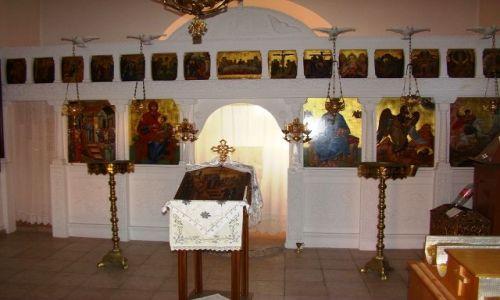 GRECJA / Kreta / Georgioupolis / Wnętrze kaplicy