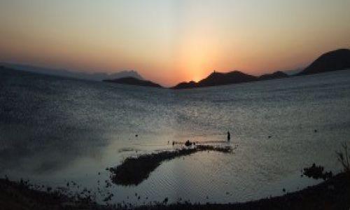 Zdjecie GRECJA / Morze Śródziemne / panorama Kos z wybrzeża tureckiego / Wyspa Kos
