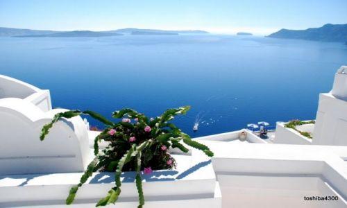 Zdjecie GRECJA / Santorini / Oia / Santorini - raj dla duszy, gorzej z ciałem - okropny skwar