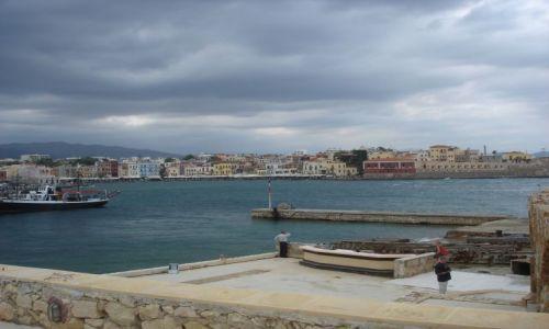 Zdjecie GRECJA / - / Kreta -Chania / Port Wenecki