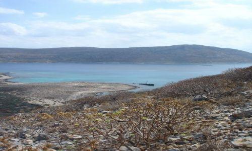 Zdjecie GRECJA / - / Kreta / Widok z Gramvousa