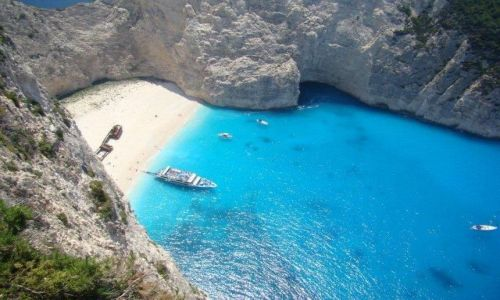 Zdjęcie GRECJA / - / Zakynthos-wyspy greckie / Zakynthos - Zatoka Wraku