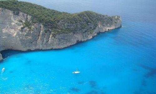 Zdjecie GRECJA / - / Zakynthos-wyspy greckie / Zakynthos - Zatoka Wraku