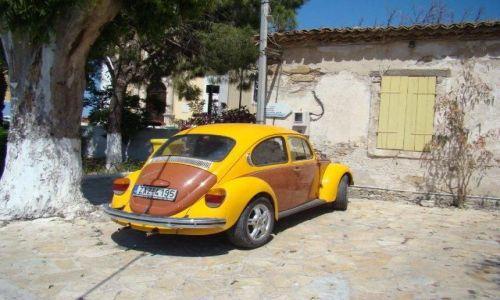 Zdjecie GRECJA / - / Zakynthos / Kultowe auto jest wszędzie