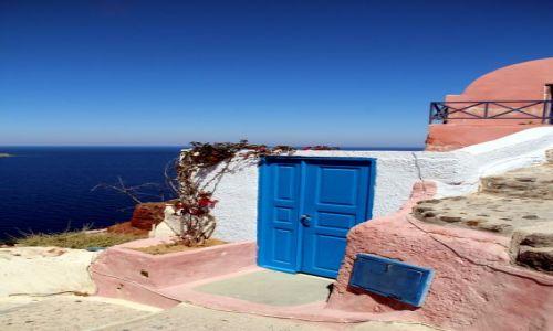 Zdjęcie GRECJA / Santorini / Oi / nie tylko biel i błekit
