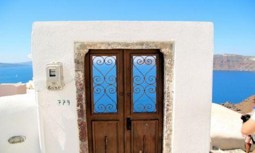 Zdjęcie GRECJA / Santorini / Oi / co słychac za tymi dzwiami