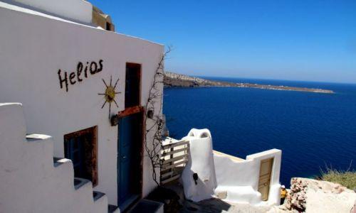 Zdjęcie GRECJA / Santorini / Oi / Helios