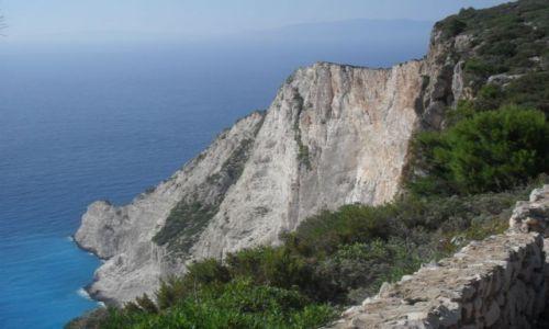GRECJA / Zakynthos / zatoka Navagio / zatoka Navagio