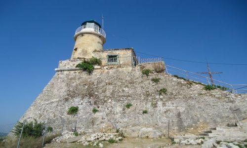 Zdjecie GRECJA / Wyspy Jońskie / Korfu / Korfu (Kerkyra) / Latarnia morska