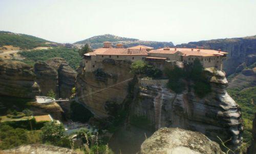Zdjecie GRECJA / Środkowa Grecja / Meteory / Klasztor ( Meteory)