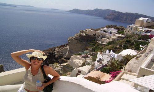 Zdjecie GRECJA / Grecja / Santorini / Piękny pejzaż