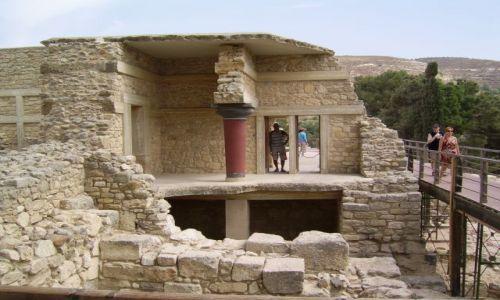 Zdjęcie GRECJA / Grecja / Kreta / Ruiny Knossos