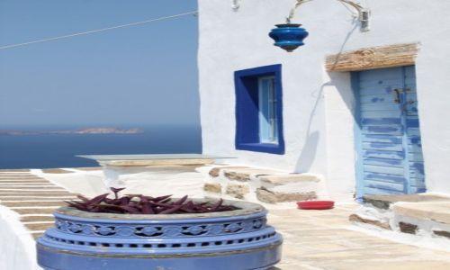 Zdjęcie GRECJA / Cyklady Milos / Plaka / Greckie klimaty