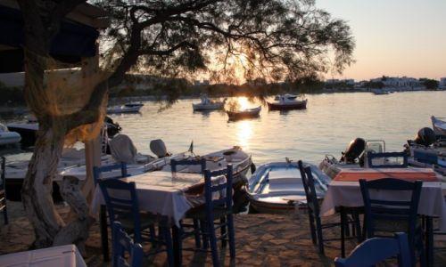 Zdjęcie GRECJA / Cyklady Milos / Pollonia / Czekając na gości...