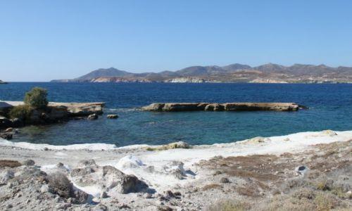 Zdjęcie GRECJA / Cyklady Milos / Pollonia / Wybrzeże