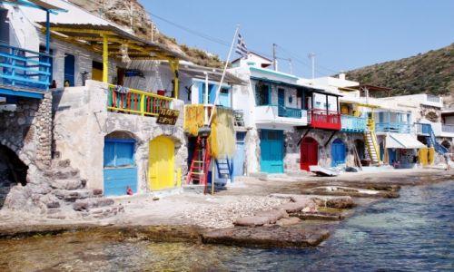 Zdjęcie GRECJA / Cyklady Milos / Klima / Klimatycznie