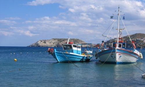 Zdjecie GRECJA / Kreta /  -  / w porcie
