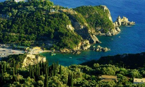 Zdjęcie GRECJA / Corfu / Paleokastritsa / Paleokastritsa