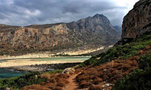 Zdjęcie GRECJA / Kreta Zach. / Zatoka Balos / Rajska plaża.