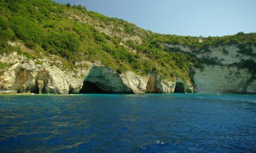 Zdjecie GRECJA / Morze Jońskie / Paxos / Jaskinie na Paxos