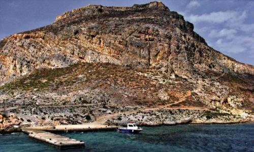 Zdjęcie GRECJA / Kreta Zach. / GRAMVOUSA-KRETA / Wyspa piratów.