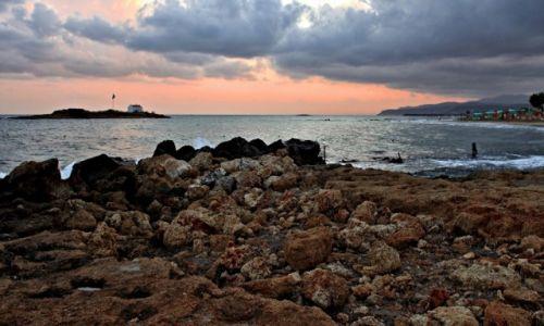 Zdjęcie GRECJA / Kreta Wsch. / Malia / Poranek na plaży