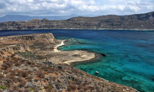 Zdjęcie GRECJA / Kreta Zach. / Półwysep Gramvousa / Panorama wybrzeża!
