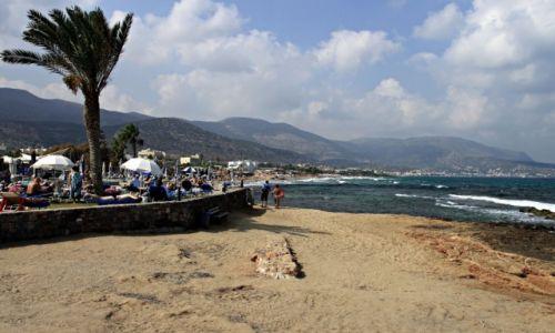Zdjęcie GRECJA / Kreta Wsch. / Malia / Jedna z plaż na Krecie .
