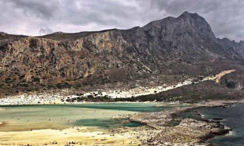 Zdjecie GRECJA / Kreta Zach. /  Laguna Balos. / Błękitna Laguna
