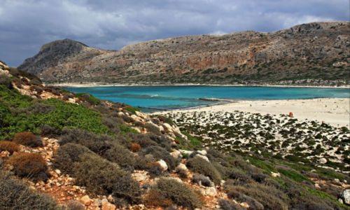 Zdjęcie GRECJA / Kreta Zach. / Zatoka Bay Balos. / Błękitna Laguna.