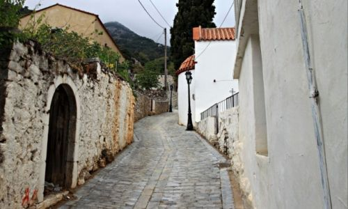 Zdjęcie GRECJA / Kreta Wsch. / Malia. / Zakamarki i wąskie uliczki.