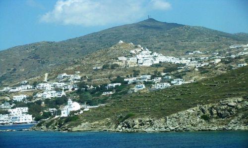 GRECJA / Cyklady / morze Egejskie / wyspa Ios