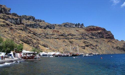 GRECJA / Cyklady / Santorini  / wyspa Thirassia