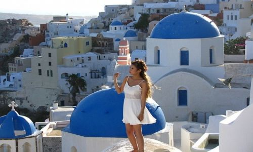 GRECJA / Cyklady / Santorini  / Oia