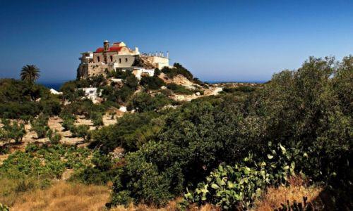 Zdjęcie GRECJA / Kreta Zach. / Kreta Zach /  Klasztor Chrysoskalitissa,
