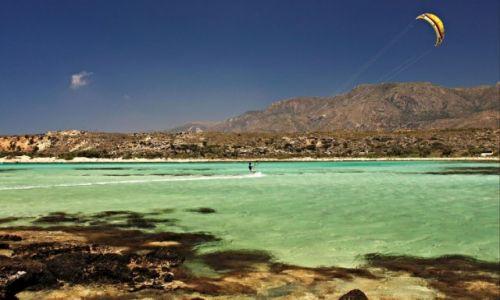 Zdjęcie GRECJA / Kreta Zach. / Elafonisi / Plaża na Elafonisi.