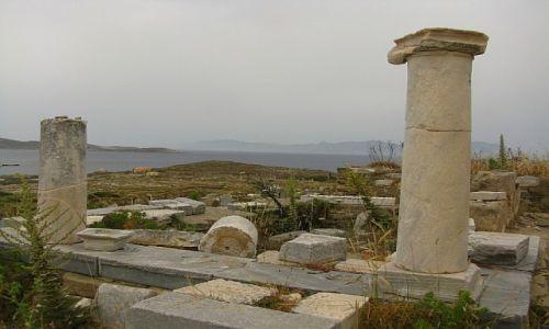 GRECJA / Cyklady / Delos / sanktuarium Atargatis