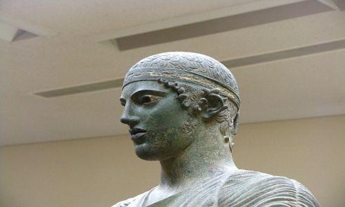 GRECJA / Fokida / Delfy muzeum archeologiczne /