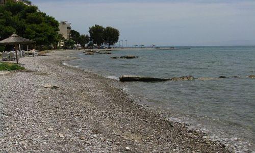 GRECJA / Fokida / Itea / plaża