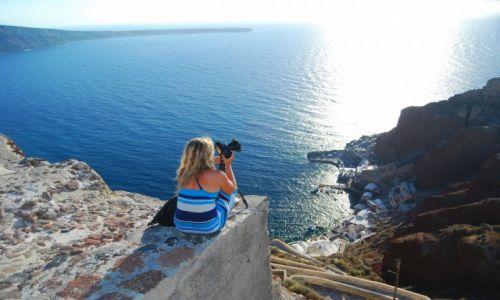 Zdjecie GRECJA / Santorini / Santorini / Oczekiwanie na zachód Słońca
