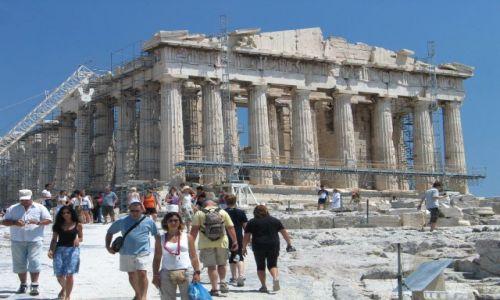 Zdjęcie GRECJA / brak / Ateny / Parteon - Akropol