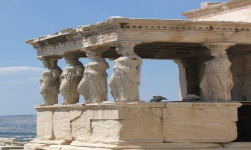 Zdjęcie GRECJA / brak / Ateny / Kariatydy - Akropol