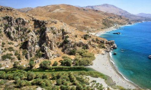 Zdjęcie GRECJA / Kreta / Preveli / Limni Preveli