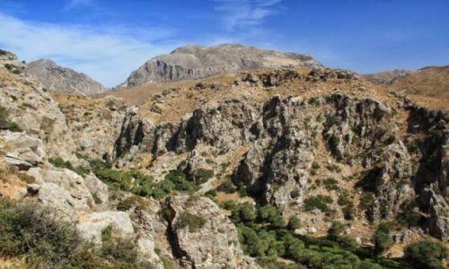 Zdjęcie GRECJA / Kreta / Preveli / Wąwóz Kourtaliothiko