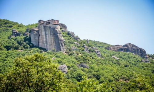 GRECJA / Kalampaka / Meteory / Klasztory w Meteorach