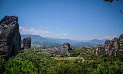 Zdjęcie GRECJA / Kalampaka / Meteory / Klasztory w Meteorach